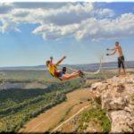 Лучшие места Крыма для прыжков со скал с веревкой