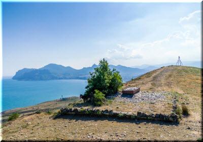 фото и пейзаж с могилы Волошина