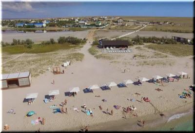 фото пляжа Майами с высоты