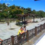 Камера у лаундж-бара «Раневская» — на набережной Судака