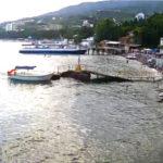 Онлайн камеру дайвинг-центра «Гурзуф Подводный»
