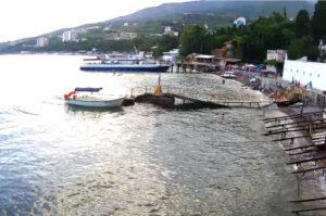 фото с камеры Гурзуф Подводный