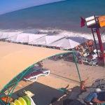 Онлайн-камера на пляже пансионата «Зенит» в Морском