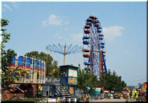 Колесо обозрения в Севастополе