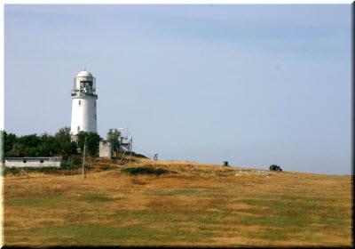 маяк на мысе Фонарь