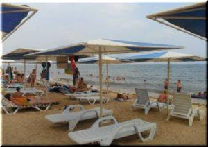пляж Баунти в Феодосии