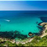 Пляж Баунти на мысе Фиолент. Виноградная бухта