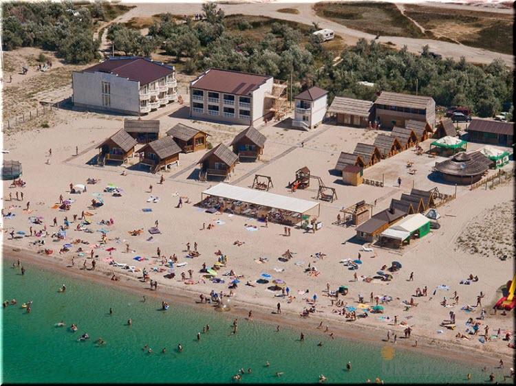 пляж пансионата Дель Мар