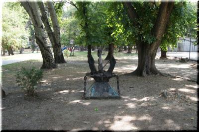 якорь в Матросском парке