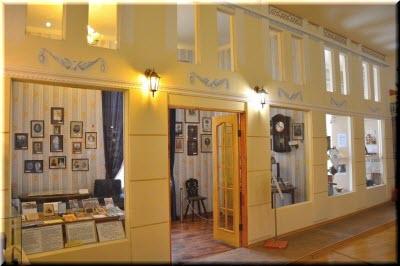 залы музея истории