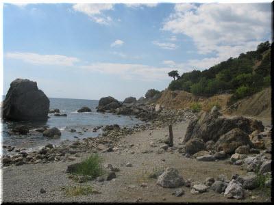 фото бухты Черепашья