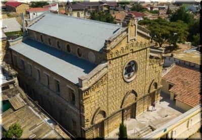 фото еврейской синагоги с высоты