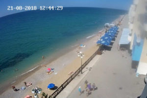 фото с пляжа Наш парус