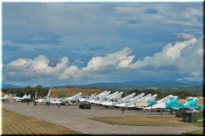 фото самолетов в Бельбеке