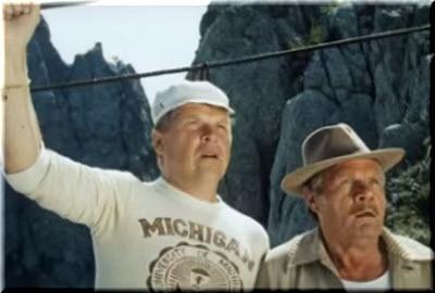 Кокшенов и Пуговкин увидели медведя