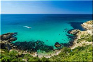 пляжи мыса Фиолент