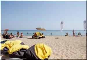 пляж Супер Аква в Евпатории