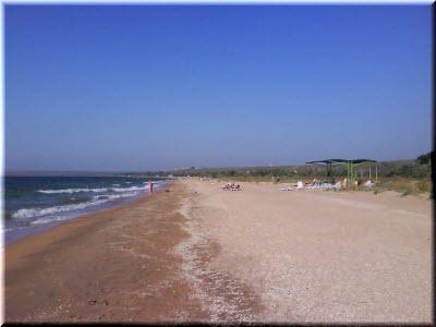 пляжи в Новоотрадном