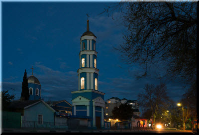 фото ночного храма