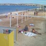 Онлайн камера на пляже Щелкино возле Казантипа