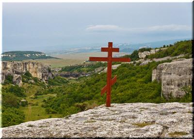 крест на Мекензиевых горах