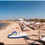 «Аквамарин» — пляж одноименного отеля в Севастополе