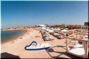 Пляж Аквамарин в Севастополе