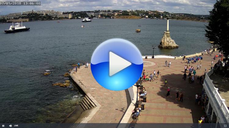 веб-камера на набережной Корнилова