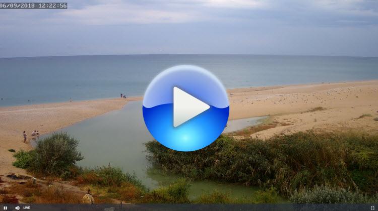 веб-камера у устья реки Бельбек