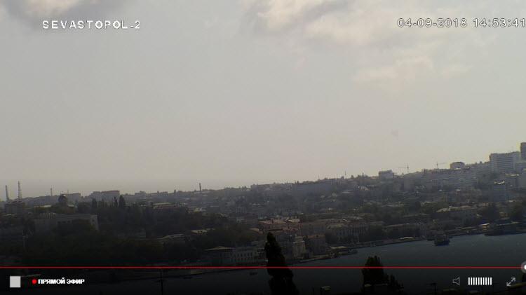 веб-камера в Севастопольской бухте