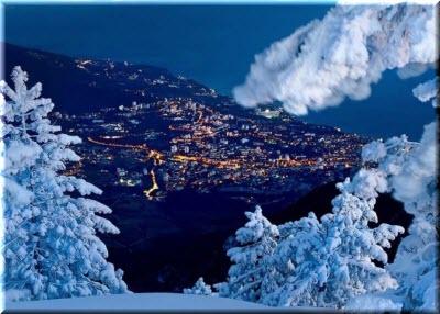 фото новогоднего Крыма