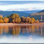 Озеро Эгиз-Оба — одно из первых в Крыму водохранилищ