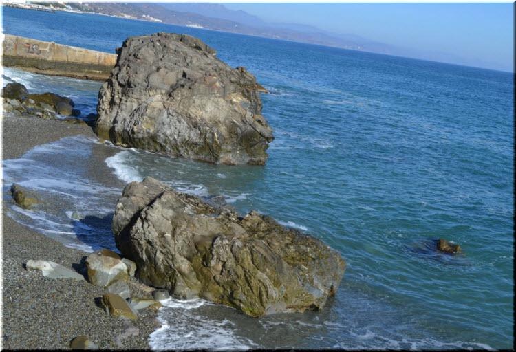 пляж Черновские камни