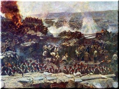 эскизы Крымской войны