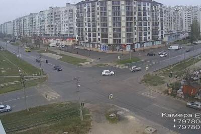фото с камеры на перекрестке Чапаева и Победы