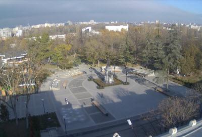 фото с камеры в Екатерининском саду