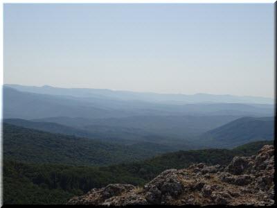 горные долины Крыма