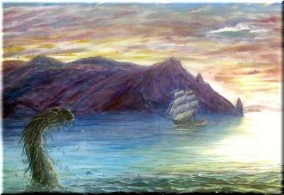 Карадагский змей в Крыму