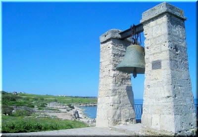 вид бухты у Херсонесского колокола