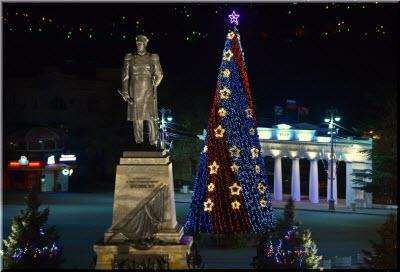 фото новогодней елки в Севастополе
