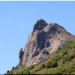 Бакаташ — гора-лягушка возле села Дачное (Судак)