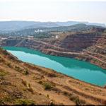 Кадыковский карьер с озером в Севастополе (Крым)