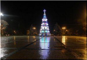 новогодняя елка в Керчи