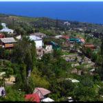 Оползневое — небольшой поселок у гор Большой Ялты