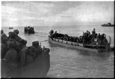 транспортные суда с десантниками