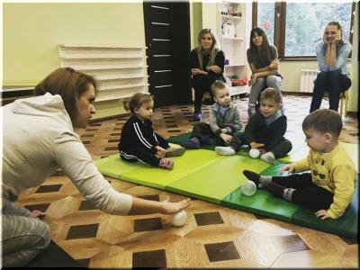 игры с детками в центре