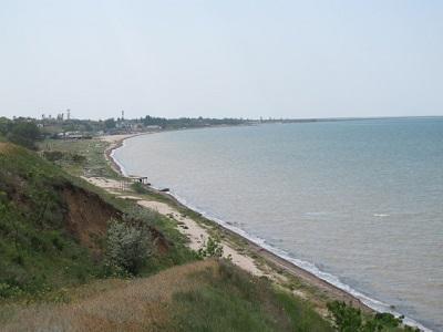 Каркинитский залив в Красноперекопске