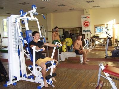 Спортзал в ТОСК Приморье