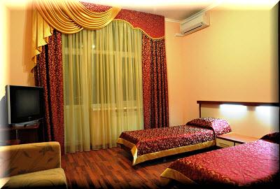 В номере отеля Империя