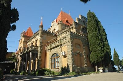 Дворец Гагариной в Утесе